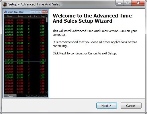 Advanced Time And Sales (ATAS) – простота без излишеств 2