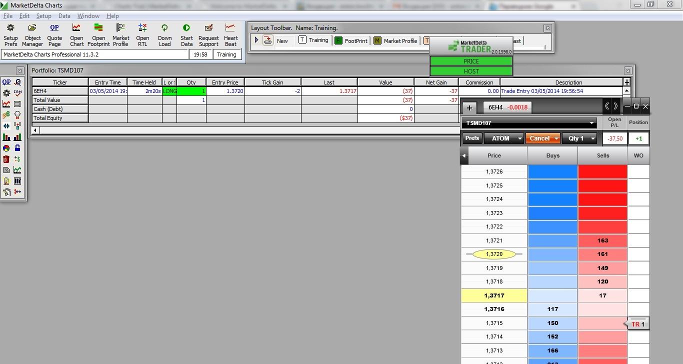 MarketDelta Trader – простота и надежность 25