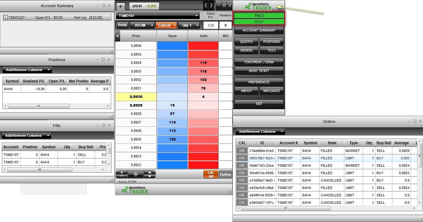 MarketDelta Trader – простота и надежность 3