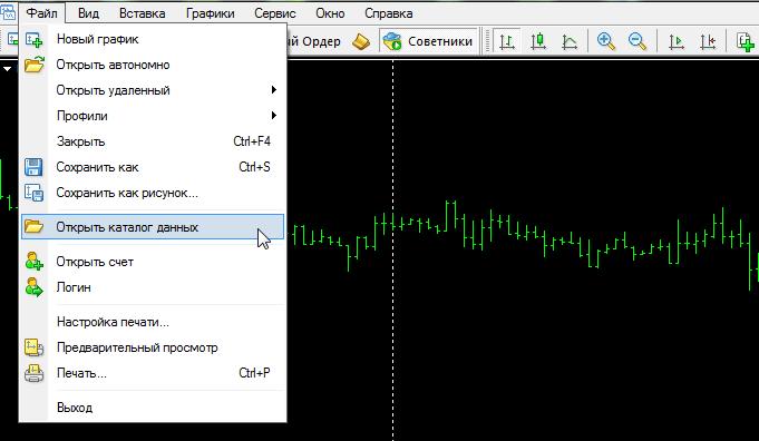 Установка индикатора в МТ4