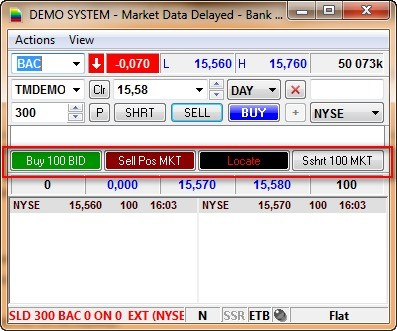 Торговая платформа Sterling Trader Pro 22
