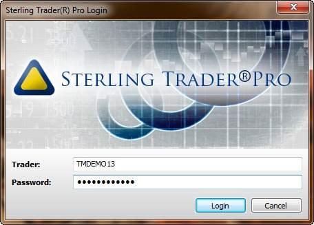 Торговая платформа Sterling Trader Pro 1